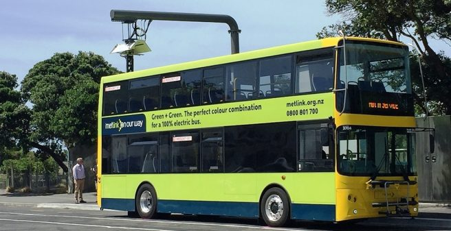 Full Electric Double Deckers In Service In New Zealand