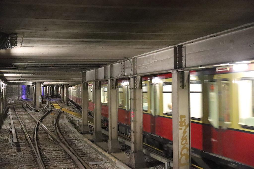 Polizeieinsatz S-Bahn Berlin